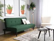 3-Sitzer Sofa Polsterbezug dunkelgrün VISBY neu
