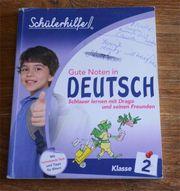 Schülerhilfebuch Deutsch 2 Klasse