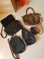 Taschensammlung verschiedene Modelle