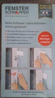 Sicherung für Fenster gegen Aufdrücken