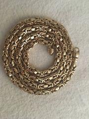 Königskette 585 Gelbgold 120g 65cm