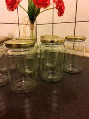 7 Marmeladengläser ca 320 ml