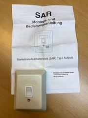 Starkstrom-Anschalterelais SAR AP neu und