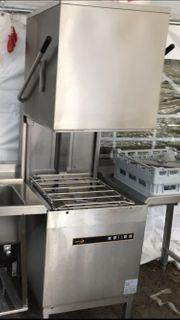 Cookmax 813003 C602 S-12a Haubenspülmaschine