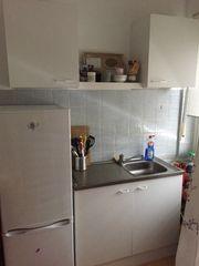 Single Küche OHNE Kühlschrank