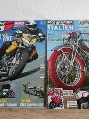 Zeitungen 2 Stk Motorräder Italien