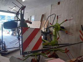 Traktoren, Landwirtschaftliche Fahrzeuge - Kreiselheuer Claas Volto 450