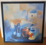 Bild Motiv Santorini 86 x