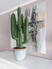kunststoffpflanze Kaktus