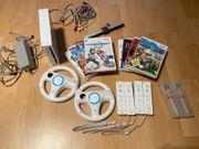 Wii mit 8 spielen plus