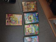 Spongebob DVDs 5 Stück