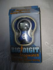 Stoppuhr Stopwatch Quarz Uhr QVF
