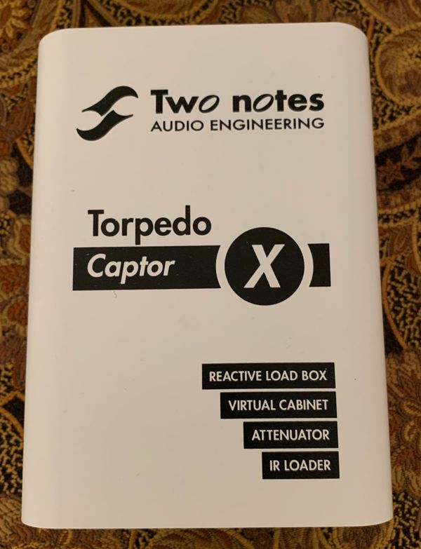 Two Notes Torpedo Captor X (8 Ohm Modell)