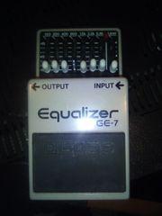 boss ge7 equalizer gitarren fx