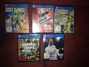 3 Geschenkte PS4 Spiele bei