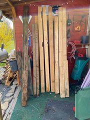Holz Balken Paletten Nut und