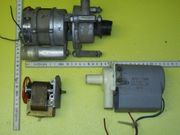 Pumpen und Pumpenmotor für Waschmaschine