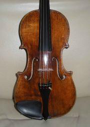 Sehr schöne Geige mit Originalzettel