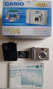 Casio Digitalkamera QV-R4 4 Megapixel