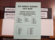 50 Great Games C64 Disk