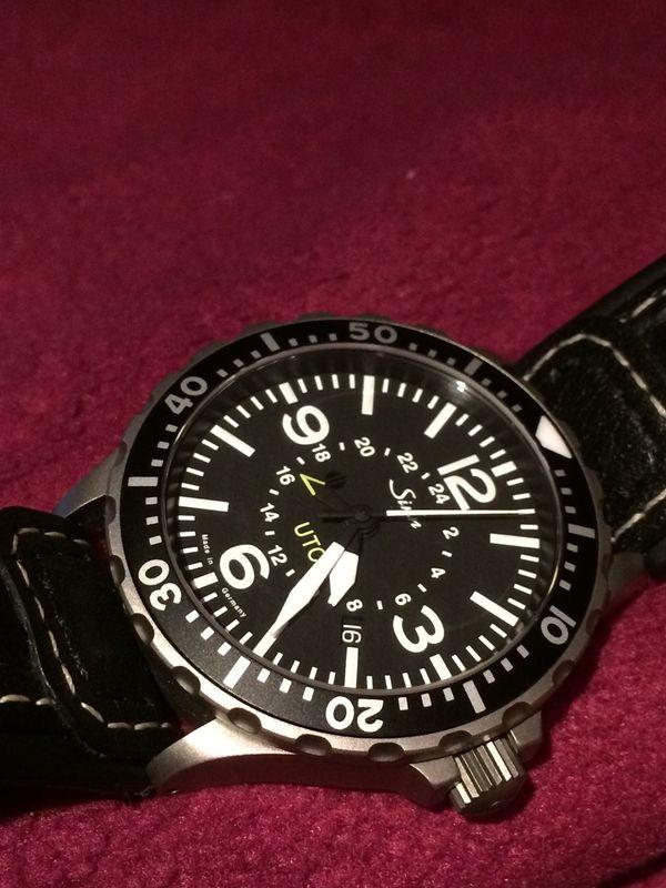 Armbanduhr Herren Sinn 857 UTC
