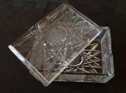 Bleikristall Schatulle - Kiste - Schale mit