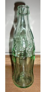 Retro-Coca-Cola Flasche leer