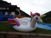 XXL-Bade-Party-Insel Einhorn
