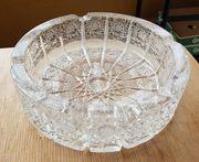 Aschenbecher aus Bleikristall