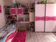 Kinderzimmer rosa weiß mädchen schlafzimmer