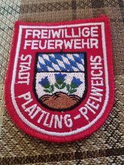 Patches Feuerwehr Stadt Plattling - Pielweichs
