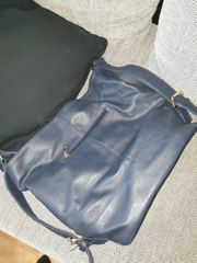 Shopper Tasche blau
