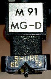 Spitzen Tonabnehmer Shure M91 MG-D
