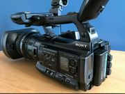 Sony PMW-200 XDCAM Camcorder Top