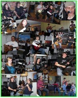 Auftrittsgesuche, Coaching - Gitarre Bass Schlagzeug Gesang Band