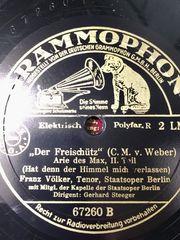 5 Stk Schellack Platten Original