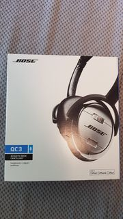 Bose QC3 Noise cancelling on