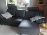 Design Leder Sofa Longchair E