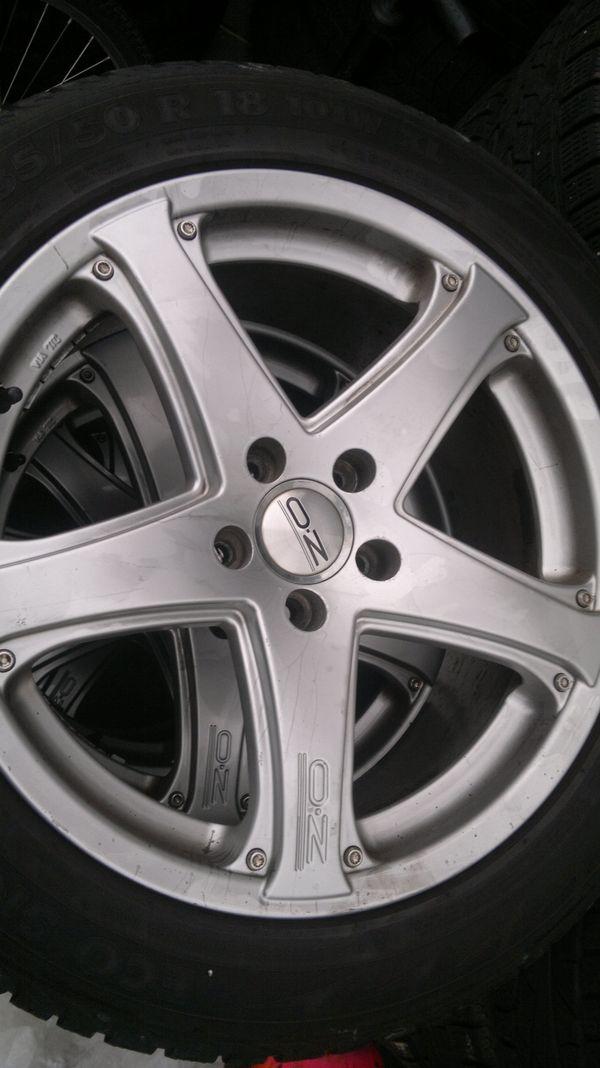 18Zoll OZ Aluräder VW Tiguan