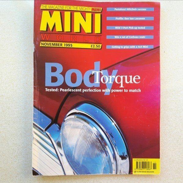 Austin Mini Fachzeitschrift