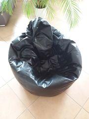 Sitzsack schwarz