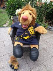 Goleo - Löwe richtig groß
