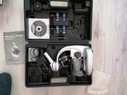 Mikroskop mit Koffer und Zubehör