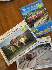 3 Eisenbahnbücher Schienenbus V 100