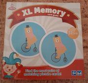 Memory XL Zirkus Tiere