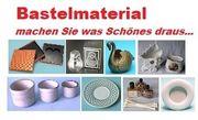 Bastelmaterial - Kartons - Dochte - kl Bilderrahmen