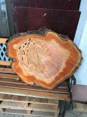 DIY-Couchtisch XXL-Holzscheibe Baumscheibe DIY-Couchtisch Holz