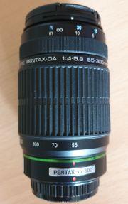 Pentax K-x 55-300mm Objektiv 1