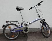 Faltrad für den Sommerurlaub - vollgefedert