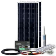 Solaranlage 320W MPPT komplett Einbau